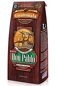 Café Don Pable - Medium-Dark Whole Bean - Guatemala - 12oz Bag