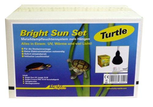 BSST-70 Bright Sun Set ,Turtle 70 W, Metalldampflampe inklusive passende Fassung und Vorschaltgerät für Wasserschildkröten