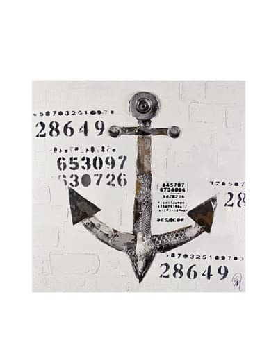 Arte Dal Mondo Edgar Ramirez Ancora 80X80X3,5 cm
