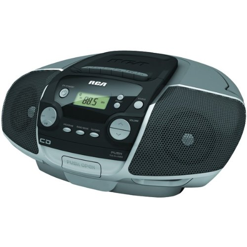 Rca Product-Rca Rcd175 Portable Cd Boom Box With Cassette Player