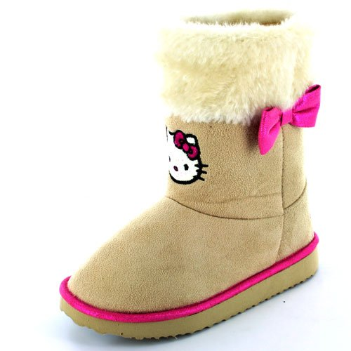 Hello Kitty Sparrow Girls Beige Boot