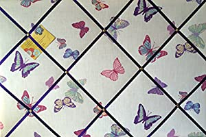Large 60x40cm Laura Ashley Summer Meadow Butterfly Hand