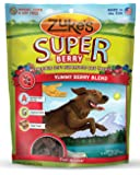 Zuke's Supers Nutritious Soft Superfood Dog Treats, Yummy Berry Blend, 6-Ounce