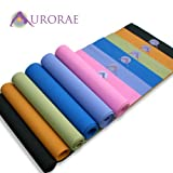 Aurorae Yoga Mats - Ultra Thick, Extra Long with Focal point Icon and Illuminating Colors that define your Inner Self. SGS approved Free from Phthalates and Latex. Great customer service and all products guaranteed. Two time Top Seller/Service Award Winner