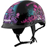 Speed & Strength Womens SS300 Wicked Garden Half Helmet 2014
