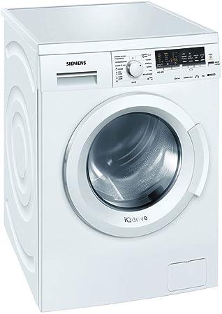Siemens WM10Q468ES Lave linge 8 kg 1000 trs/min A+++-30% Blanc