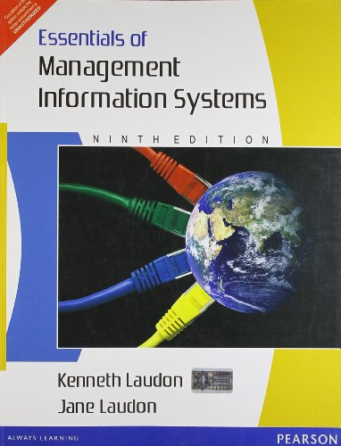 Essentials Of Management Information Systems 9/E Pb