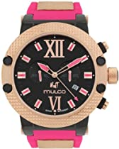 Mulco MW3-11010-085 Nuit Link Pink Chronograph Watch