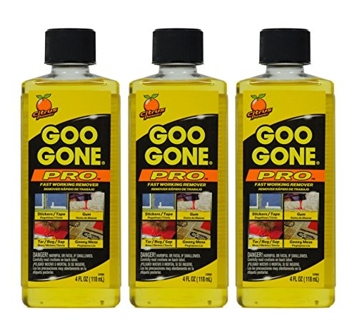 goo gone sticky remover citrus power 3 pack home garden household supplies shoe care tools. Black Bedroom Furniture Sets. Home Design Ideas