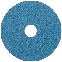 Merit Resin Abrasive Disc, Fiber Backing, Zirconia Alumina, 7/8