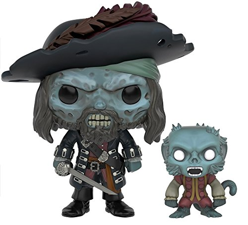 Funko POP Disney: 2016 Summer Convention Exclusive Pirates of The Caribbean Ghost Barbossa Action Figure