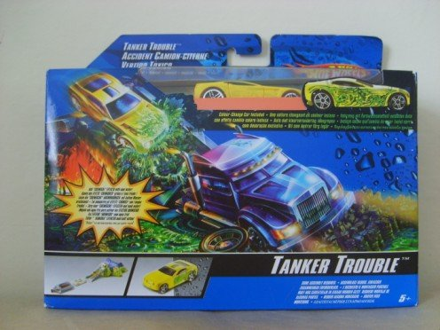 Hot Wheels Tanker Trouble Playset - Buy Hot Wheels Tanker Trouble Playset - Purchase Hot Wheels Tanker Trouble Playset (Hot Wheels, Toys & Games,Categories,Play Vehicles,Vehicle Playsets)
