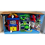 Playskool Marvel Spider-man Adventures Spider-man Headquarters. Kohl's Exclusive Special Edition Spider-man Vs. Lizard with Spidey Sports Car & Lizard Copter
