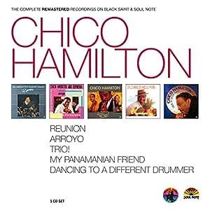 Chico Hamilton - Chico Hamilton - Complete Recordings on Black Saint