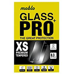 Moblo Tempered Glass for Micromax A107