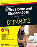 img - for Office Home and Student 2010 All-in-One For Dummies 1st (first) Edition by Weverka, Peter [2010] book / textbook / text book