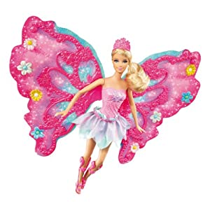 Barbie Flower 'N Flutter Fairy Barbie Doll