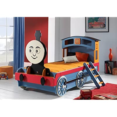 Duplay Exclusive - Custom Designed Child's Thomas the Tank Train Bed