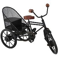 Desi Karigar Decorative Miniature Of Metal Rickshaw