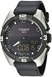 Tissot Men's T0914204605100 T-Touch Expert Analog Display Swiss Quartz Black Watch