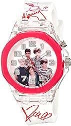 1D One 1 Direction Flashing Lights Analog Watch Signature Strap