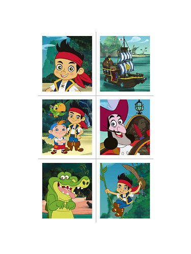 Disney Jake and the Never Land Pirates Stickers (4 sheets) - 1