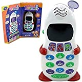 ABC And 123 Learner Mobile Toy For Kids, LED Display + Music, Educational And Learning Toy For Kids
