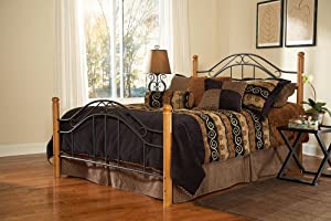 Hillsdale Furniture 164BK Winsloh Bed Set, King, Black