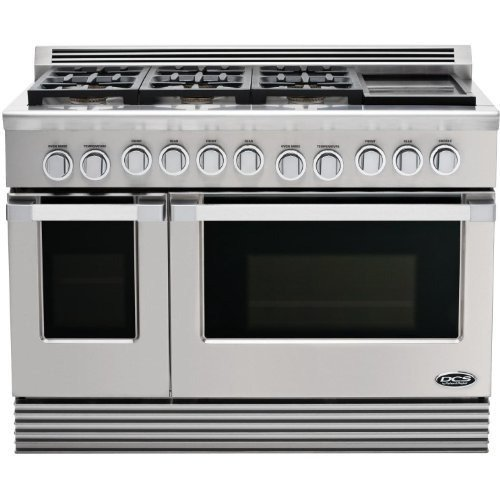 Dcs Rdu-486Gd-L Range 48, 6 Burner, Griddle, Lp Gas