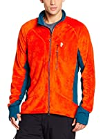 Peak Performance Chaqueta Hilo Zip (Naranja)