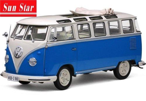 VW Samba Van Bus (1960) Diecast Model Car