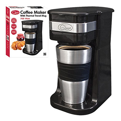 quest-benross-one-cup-filter-coffee-maker-with-travel-mug-and-lid-700-watt