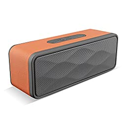BUTEFO Bluetooth Speaker 3D HI-FI Bass Wireless Portable Bluetooth 4.0 Speaker Stereo with Built-in Microphone Handfree Calling