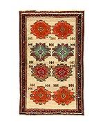Kilim Carpets by Jalal Alfombra Gashgai (Beige/Rojo/Verde)