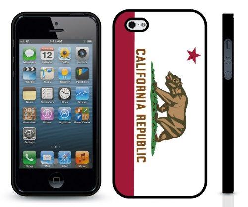 California Republic Flag, California Golden Bear Design Snap-On Cover Hard Carrying Case For Iphone 5/5S