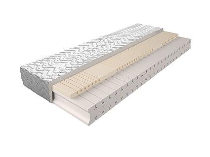 Matratze mit Schaumstoffkern 010 - Größe: 160 x 200 cm, Höhe: 18 cm