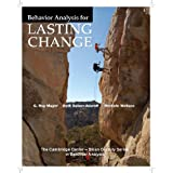 Behavior Analysis for Lasting Change