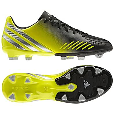 Amazon.com: Adidas Predator Absolion LZ TRX FG Blk/Green Mens Soccer