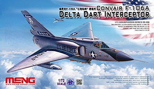 Meng Model 1:72 – Convair F-106A Delta Dart Interceptor by Meng Model jetzt bestellen