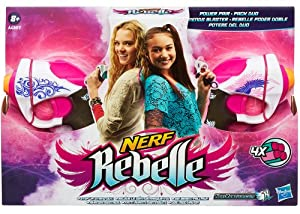 Nerf Rebelle - A4807E270 - Pack Duo 2 Pistolets