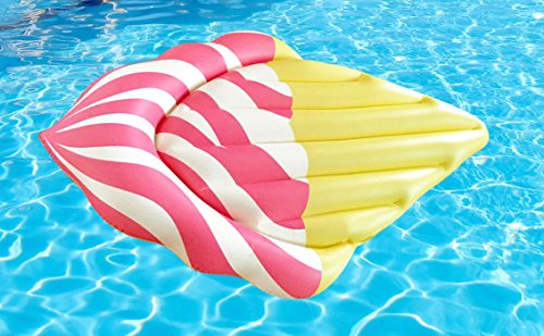 Jasonwell®Giant Inflatable Ice Cream Pool Float, Inflatable Summer Toy, Pool Party Toy (Pizza Ice Cream compare prices)