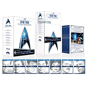 51qWb8XF9HL. SL500 AA300  Star Trek: The Motion Picture Collection (Blu Ray)   $65 + free shipping