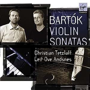 Bartok : Sonates pour violon et piano - Sonate pour violon solo