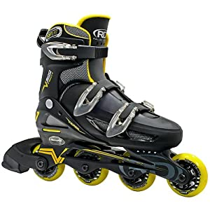 Roller Derby Men's V500 Adjustable Inline Skates (6-9) Large