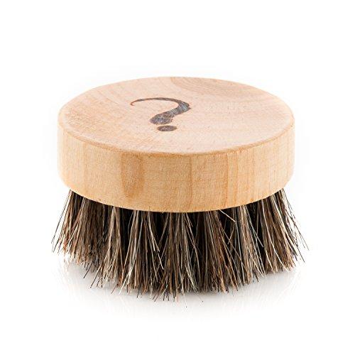 Beard Oil Brush | Natural, Soft Horse Hair | For Dry or Wet Beards