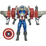 Marvel Captain America With Glider Jetpack