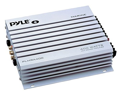 Pyle PLMRA400 400-Watt 4-Channel Waterproof Marine/Car Amplifier (Bmw X5 2007 Music compare prices)
