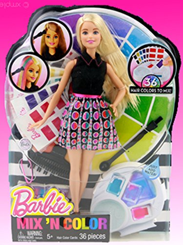 Barbie Mix N Color Doll Toy Review
