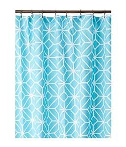 Trina Turk Unisex Trellis Shower Curtain Turquoise Amazon