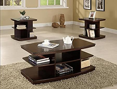 Brand New 3-pk Ella Coffee Table and End Table (x2) Cocktail set